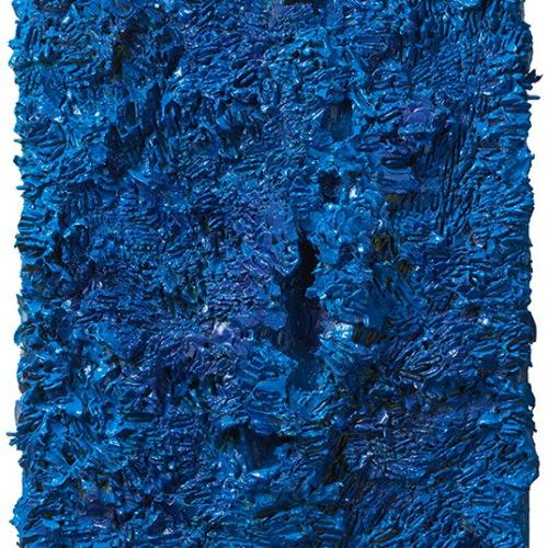 Blue Box  40 x 31 cm
