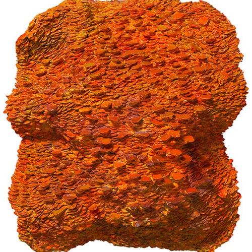 Clockwork Orange 63 x 53 cm