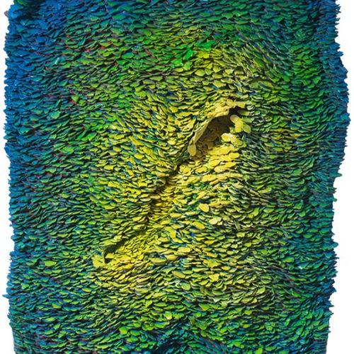 Blue Side 82 x 86 cm